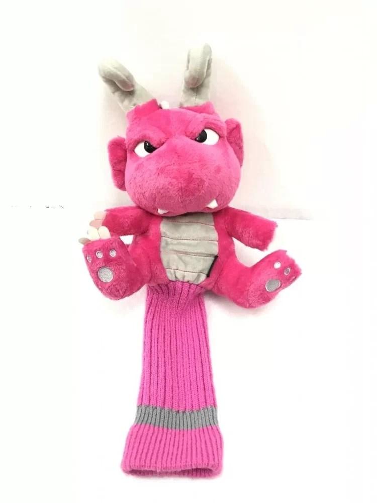 ダンスウィズドラゴン ヘッドカバー ピンク FW用 ドラゴン