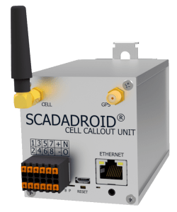 SCADADroid® Cell Callout Unit