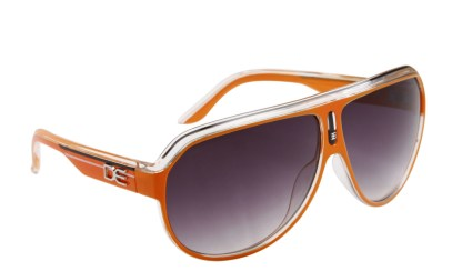 DE Stunnas Sporty Clear II Orange White and Black