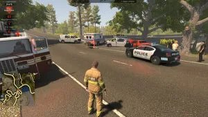 Flashing Lights Police Fire EMS Free Download Crack Repack-Games