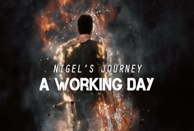 Nigel's Journey : A Working Day Repack-Games
