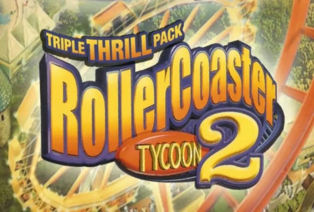 RollerCoaster Tycoon 2 Triple Thrill Pack Repack-Games