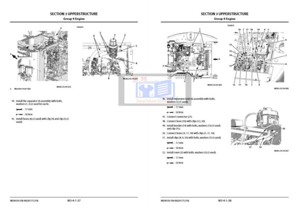 Hitachi ZX135US-6 Workshop Manual and Diagrams