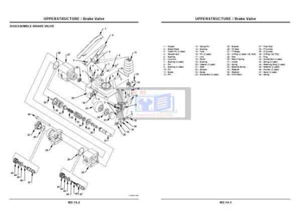 Hitachi Zaxis 130W Workshop Manual