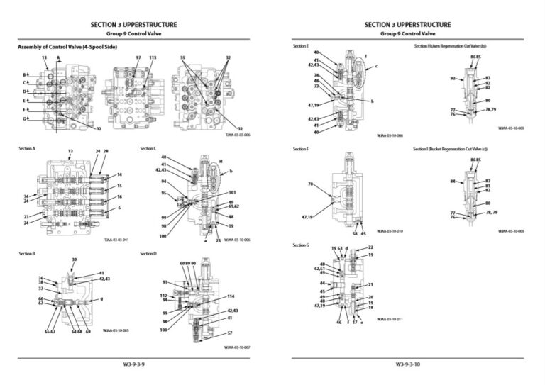 Hitachi ZX470LC-5G Workshop Manual and Diagrams