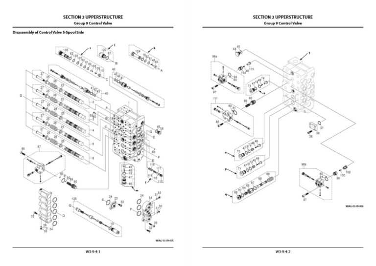 Hitachi ZX670-6, ZX690-6 Series Workshop Manual and Diagrams