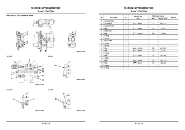 Hitachi ZX670LC-5B Series Workshop Manual and Diagrams