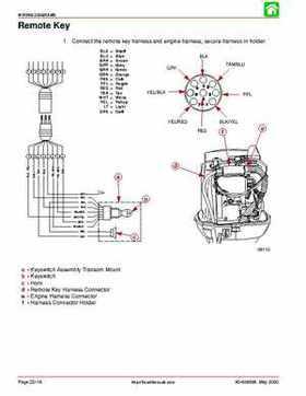 2001 Mercury Mariner 50-60HP Factory Service Manual, Page 153