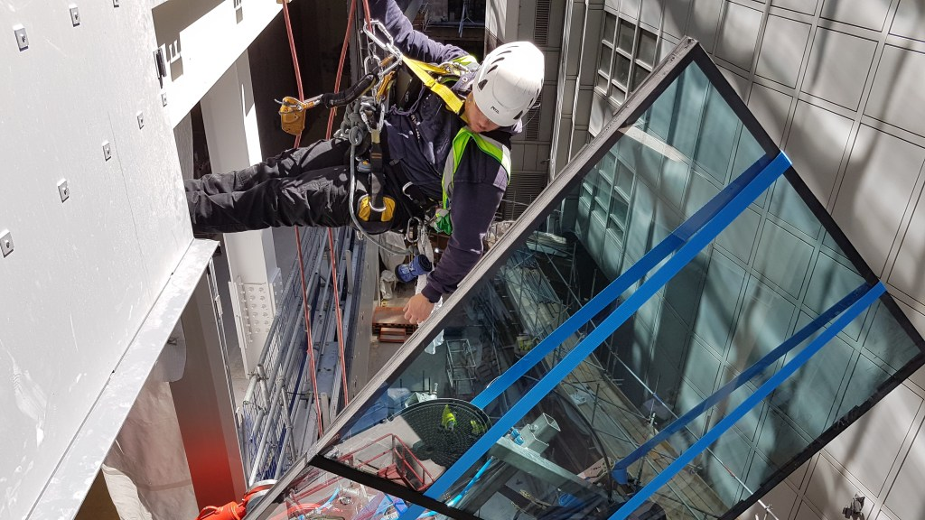 rope access glazing