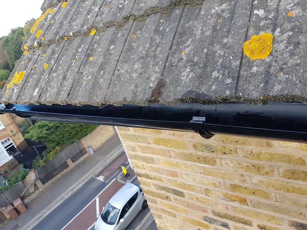 rope access gutter repair
