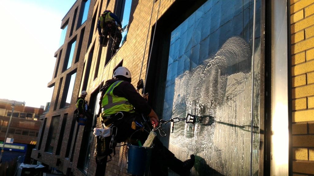 rope access builders clean