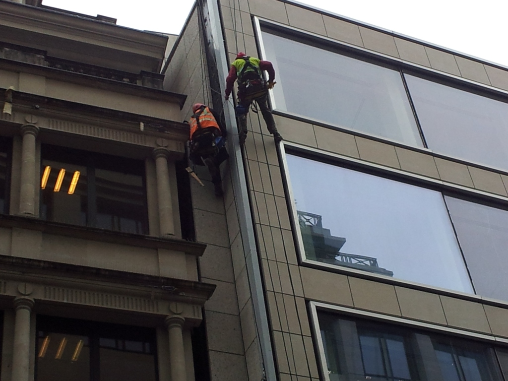 curtain wall fixing