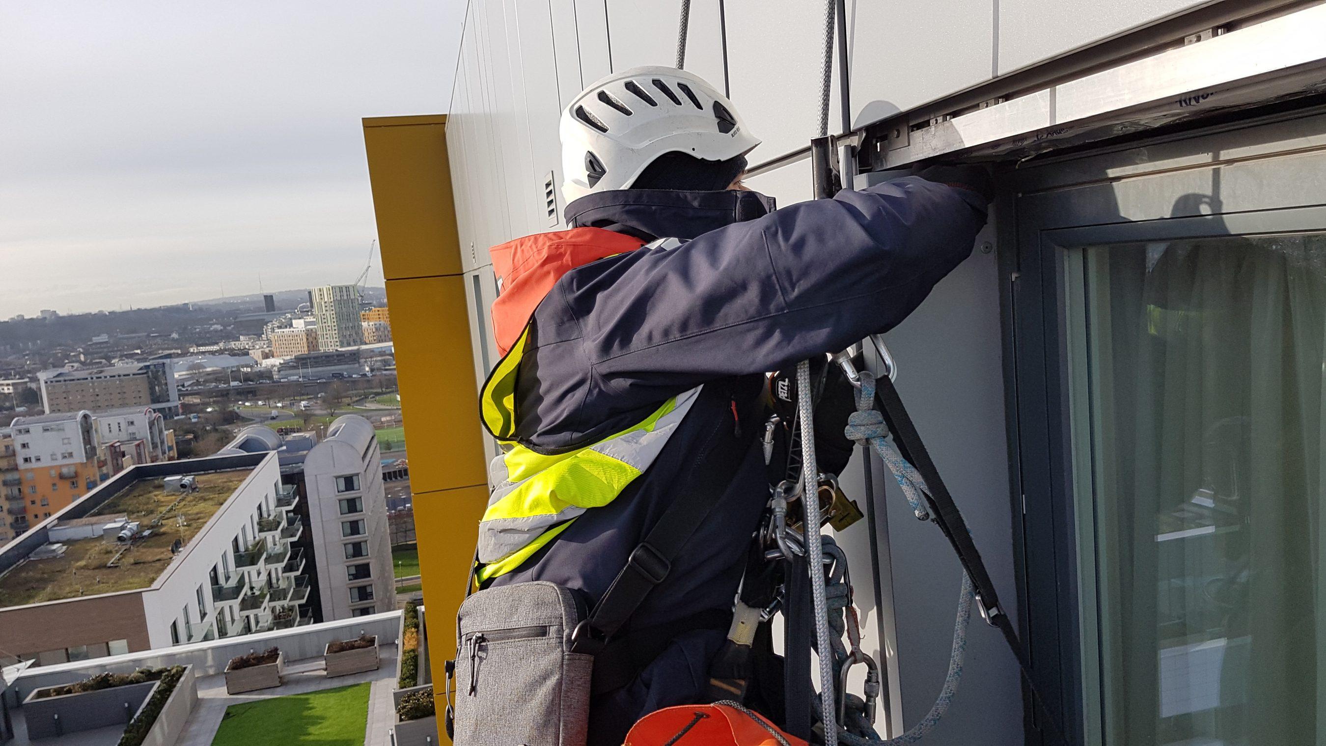High level cladding repair