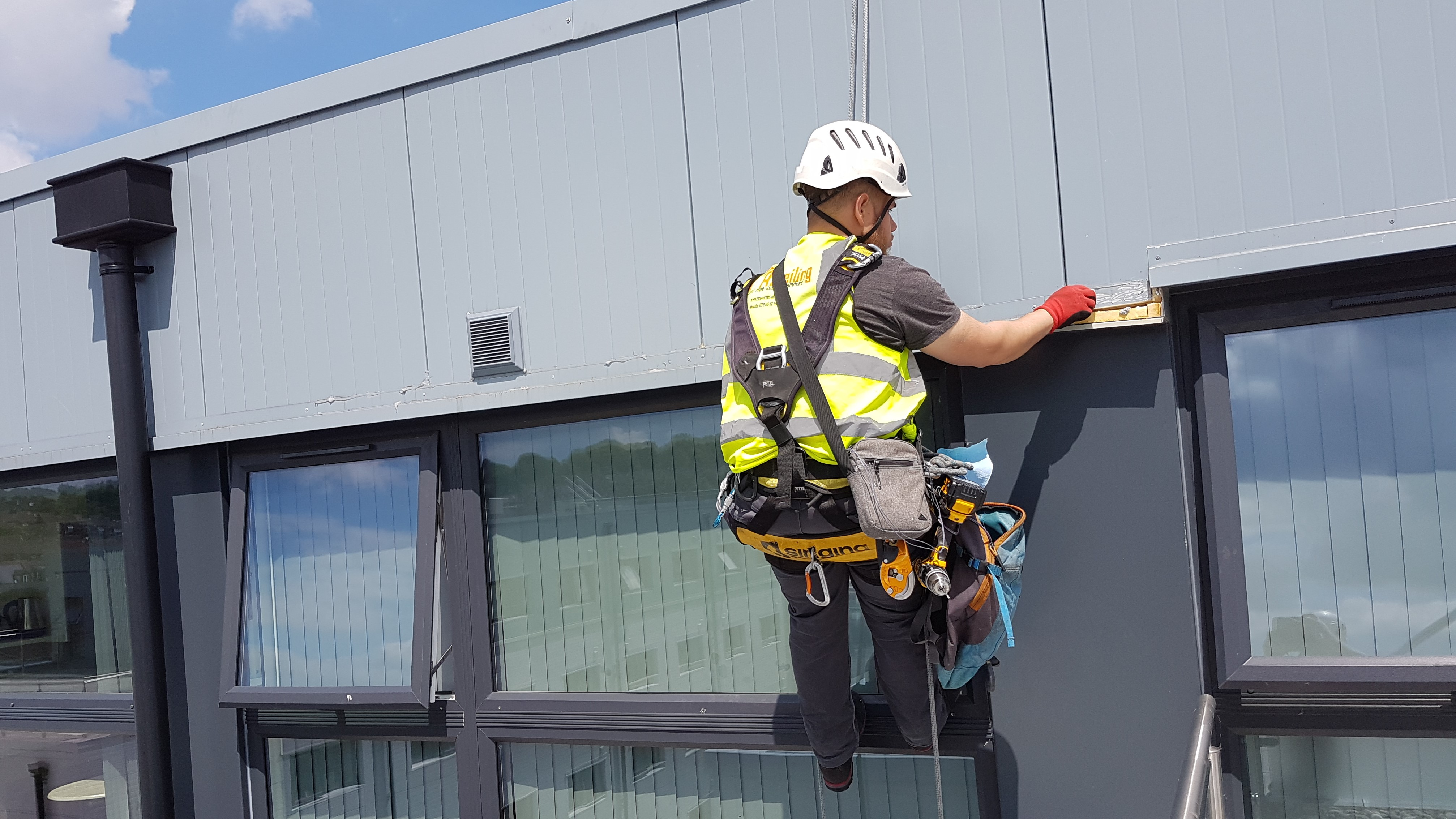 rope access cladding inspection
