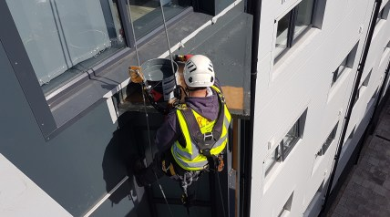 rope access grp roof