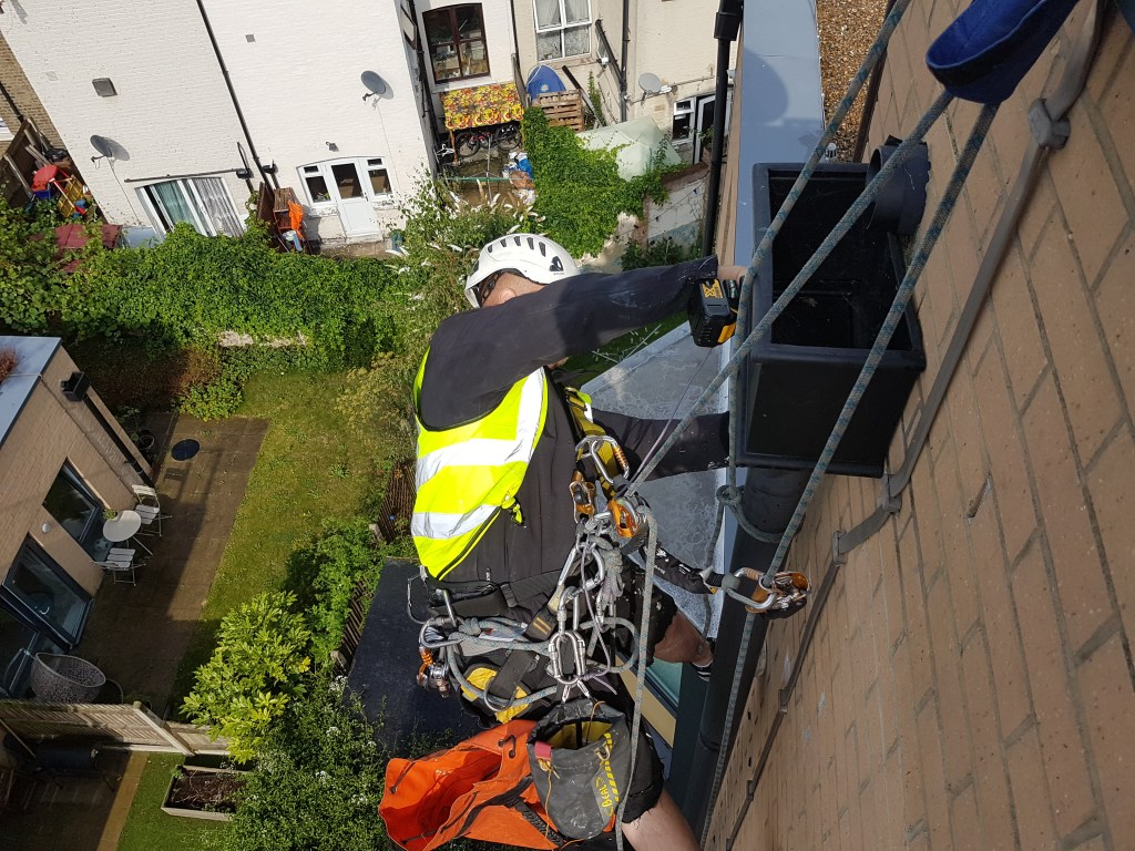 abseiling services London