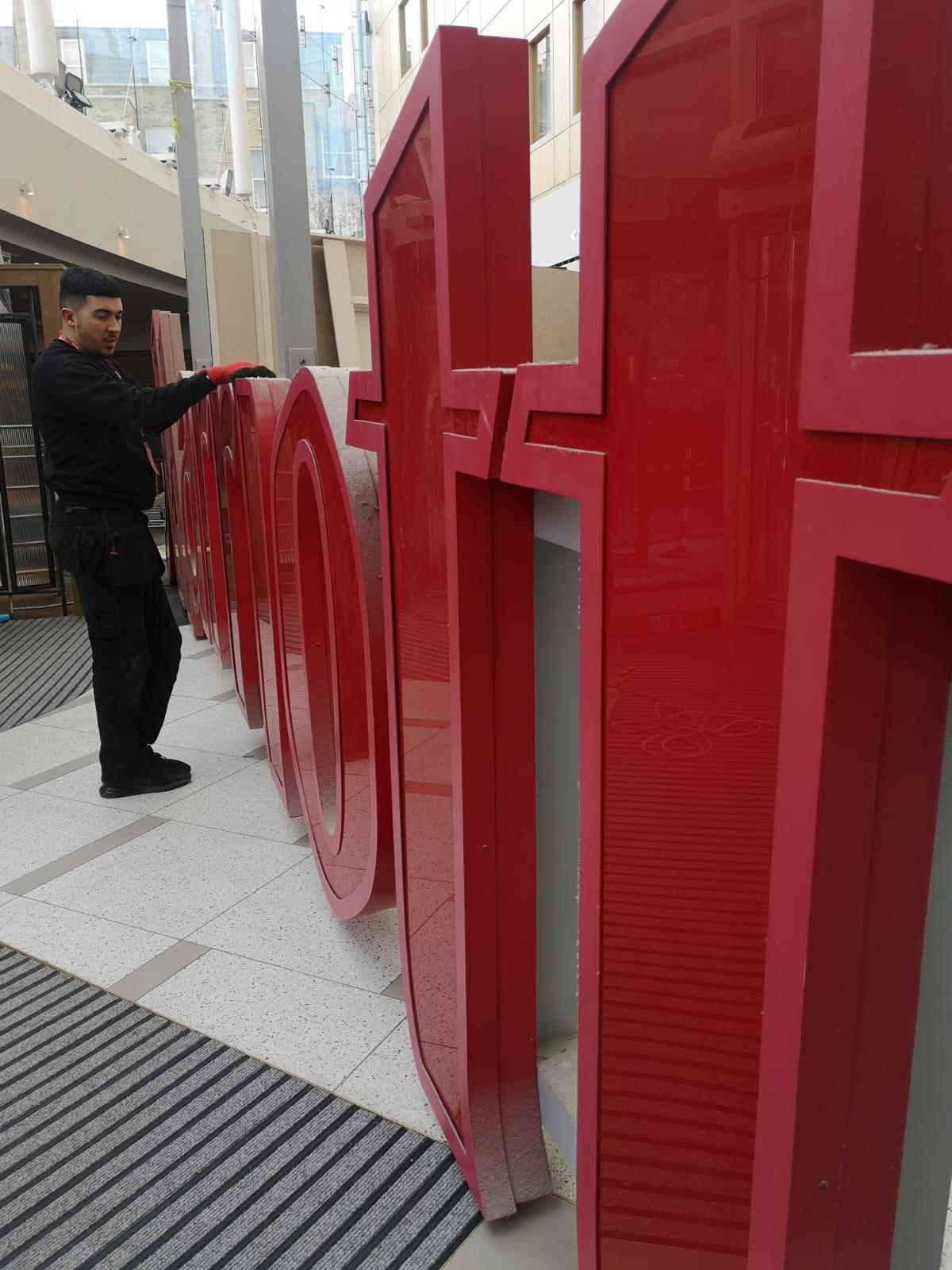 signage repairs