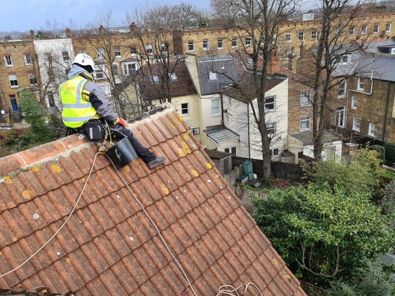 ridge tile repairs