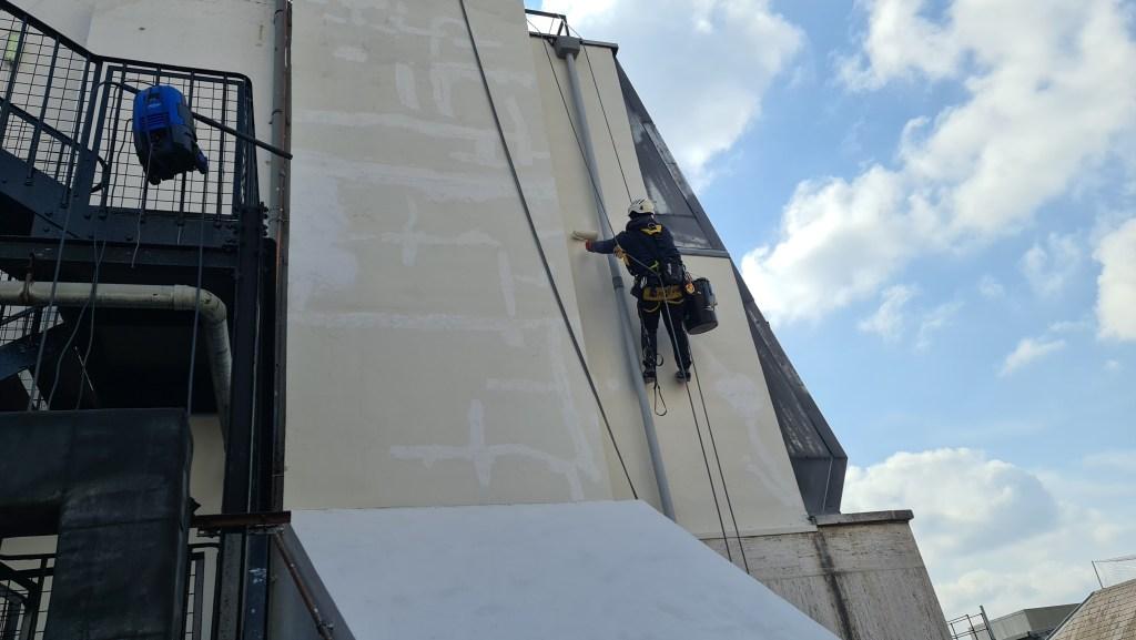 painting - building maintenance