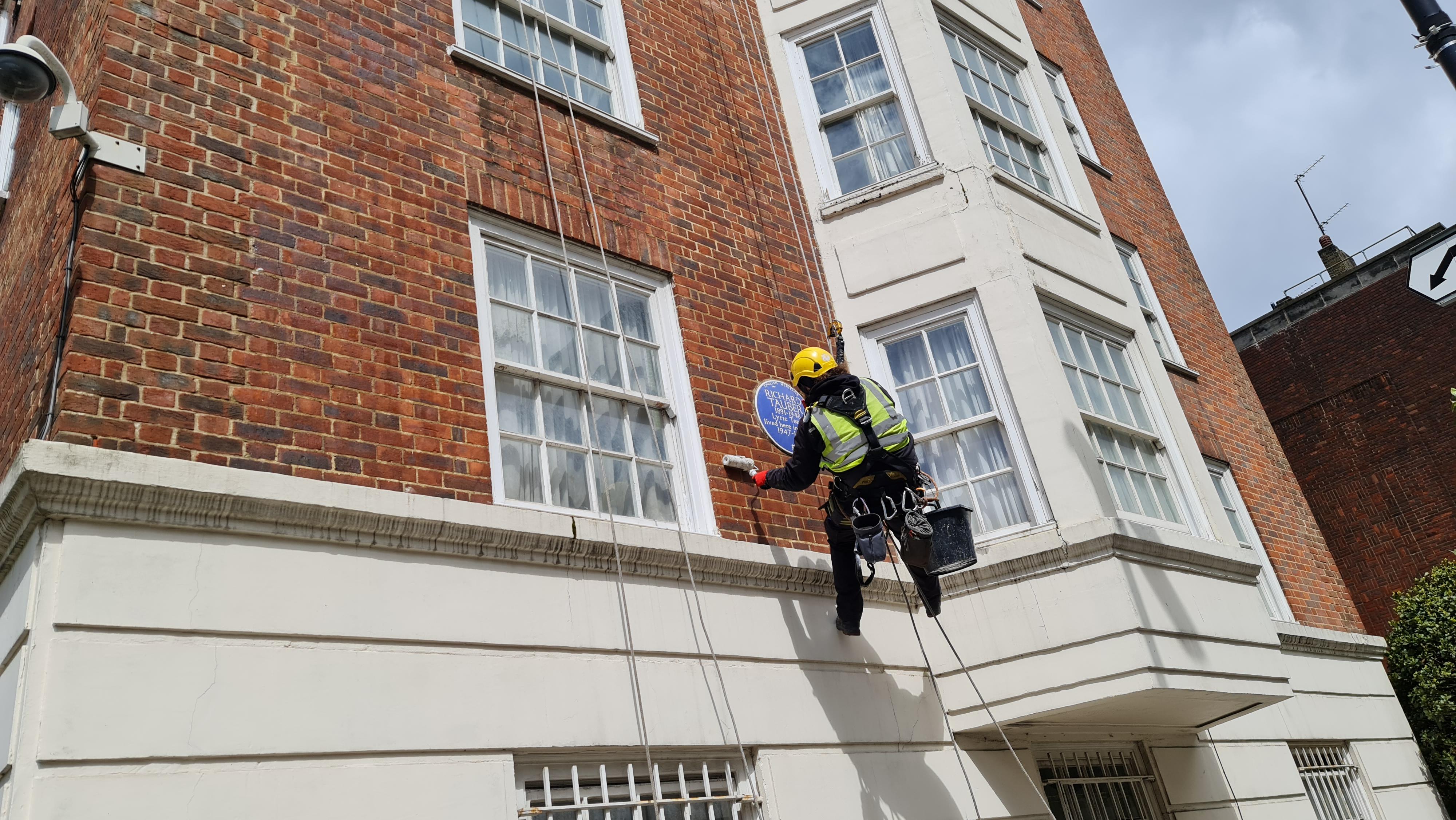 external brickwork maintenance
