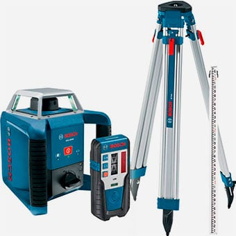 Bosch-Exterior-Self-Leveling-Rotary-Laser-Kit