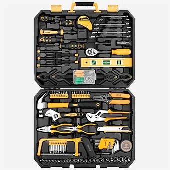 DEKOPRO-168-Piece Socket Wrench Set Hand Tool Kit