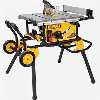 Tools to Have in Workshop - DEWALT-10-Inch-Table-Saw