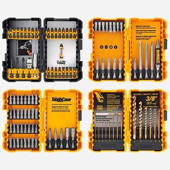 Tools to Have in Workshop - DEWALT Screwdriver Bit Set -Drill Bit Set, 100-Piece