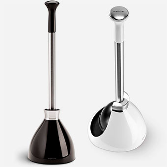 simplehuman-Toilet-Plunger-with-Holder
