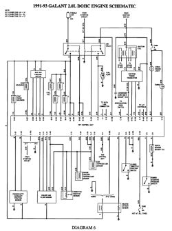 92 Mitsubishi Diamante Wiring Diagram, 92, Free Engine