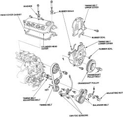 2000 dodge caravan belt diagram regulation baseball field | repair guides engine mechanical timing cover and seal autozone.com