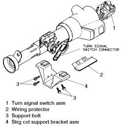 Service manual [Repair Guides Steering Turn Signal Switch