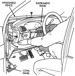 Replace the front A/C evaporator in a 1998 Plymouth Grand