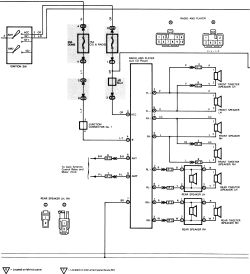 1988 toyota pickup radio wiring diagram 1988 image 1994 toyota pickup radio wiring diagram 1994 auto wiring diagram on 1988 toyota pickup radio wiring