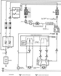 Wiring Diagram 4afe Car Diagrams 4a 22R Wiring Diagram