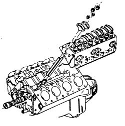 V8 Engine Exploded View, V8, Free Engine Image For User
