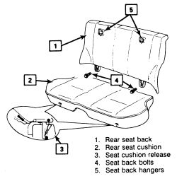 Service manual [How To Remove Front Seat On A 1993 Gmc