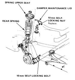 HowToRepairGuide.com: Replace Rear Shock Absorber?