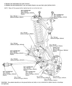 HowToRepairGuide.com: How to Replace Shock Absorbers On Acura?