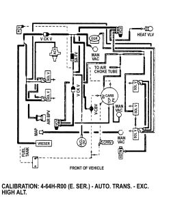 1986 F150 4x4 300 I6 vacuum diagrams