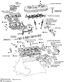 Engine Wiring Diagram For A 78 22r Toyota : 41 Wiring