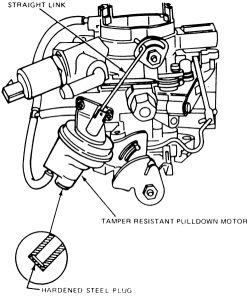 holley 1946 carburetor diagram