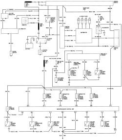 1983 Mustang Alternator Wiring Diagram 1983 Mustang Vacuum