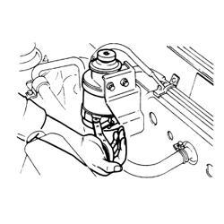 Mitsubishi Truck Fuel Filter Wrench, Mitsubishi, Free