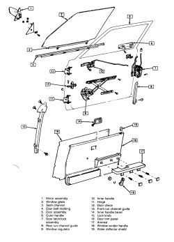 Toyota Door Weatherstrip Door Trim Wiring Diagram ~ Odicis