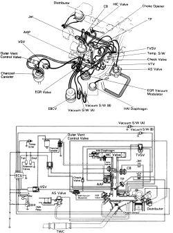 1991 Toyota Tercel Engine Diagram, 1991, Free Engine Image