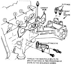 Ford 302 Engine Carburetor Diagram Ford 302 Intake And
