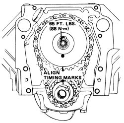 schematics and diagrams: How to replace Timing chain on