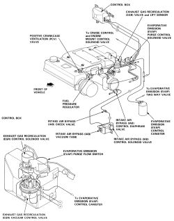 93 Honda Accord Vacuum Diagram. Honda. Auto Parts Catalog