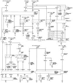 1995 Honda Accord Wiring Diagram & 1992 Honda Accord Lx Fuse Box